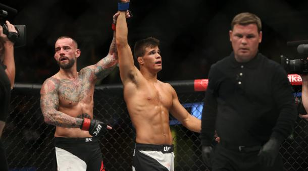 CM Punk was beaten by Mickey Gall at UFC 203 (image: Fella)