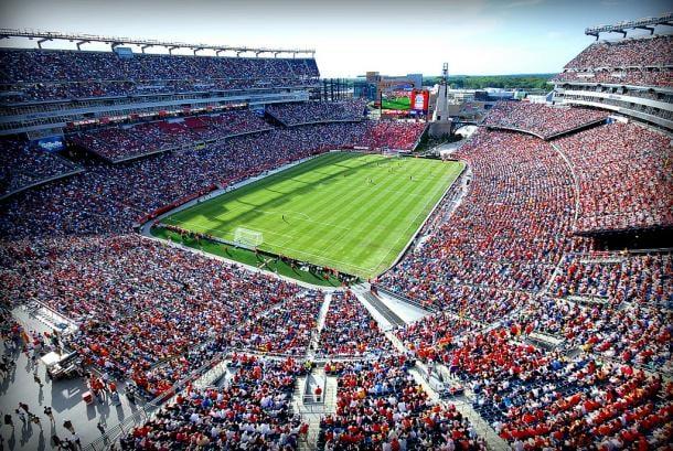 Gillette Stadium acogiendo a los USMNT (flickr.com)