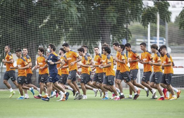 El Valencia Mestalla prepara su regreso | Foto: Valencia CF