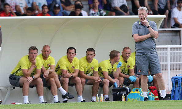 Moyes and his staff guided Sunderland to some super pre-season results, but what can they do in the Premier League? (Photo: Ian Horrocks/Sunderland AFC via Getty Images)