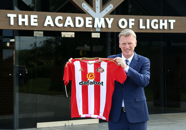 David Moyes is unveiled as the new Sunderland manager. (Photo: Ian Horrocks/Sunderland AFC via Getty Images)