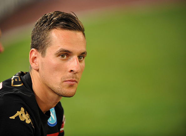 Milik was present as Napoli faced Nice | Photo: Francesco Pecoraro/Getty Images