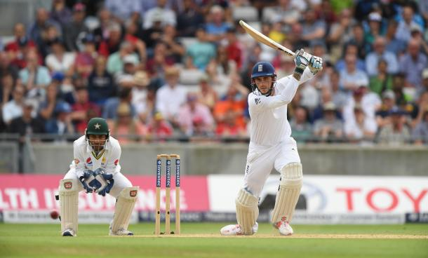 Alex Hales earned a much-needed unbeaten half-century (photo: Getty Images)