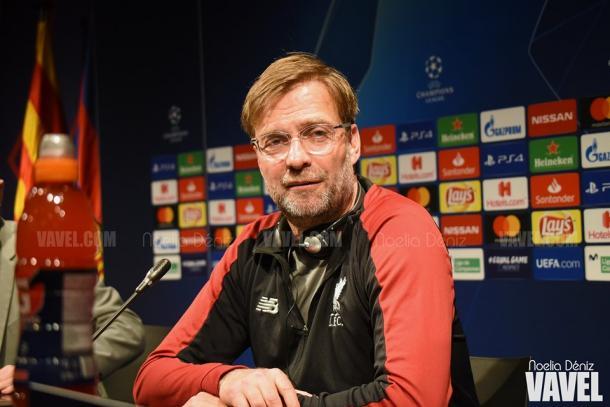 Imagen de Jürgen Klopp, entrenador del Liverpool. FOTO: Noelia Déniz