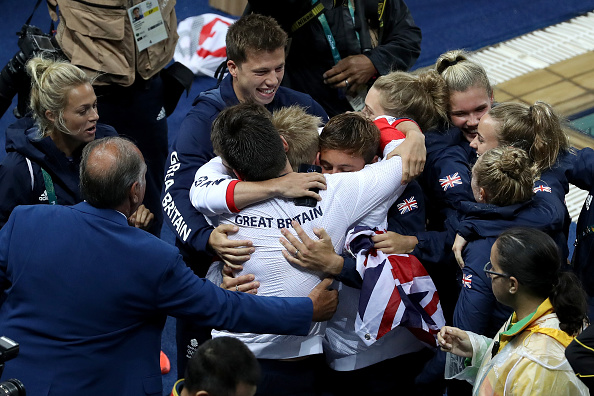 GB win their first Olympic diving gold (photo:getty)