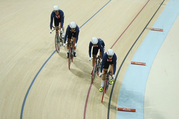 GB pursuit team outclassed the world champions the USA (photo:getty)