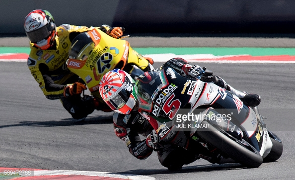 Fending off Rins - Getty Images