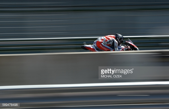 The speed out of the Ducati - Getty Images