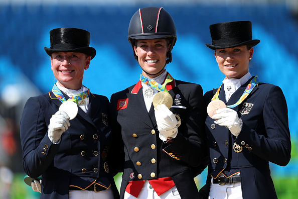 Dujardin finishes ahead of German duo (photo:getty)