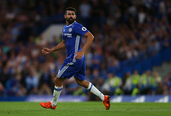 Diego Costa in action during Chelsea's 2-1 win over West Ham | Photo: Getty Images