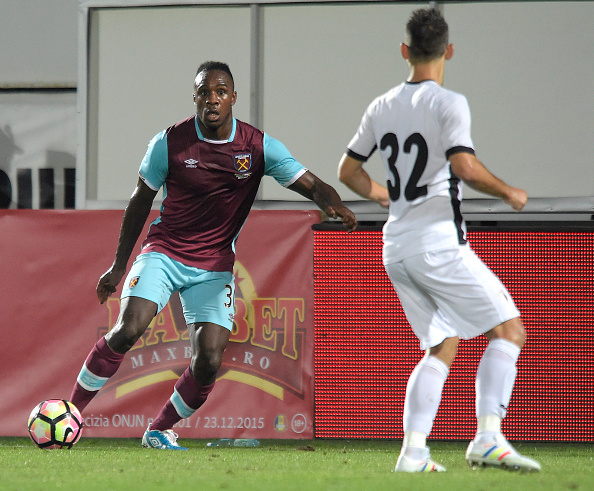 Above: Michail Antonio in action in West Ham's 1-1 draw with Astra Giurgiu | Photo: Getty Images