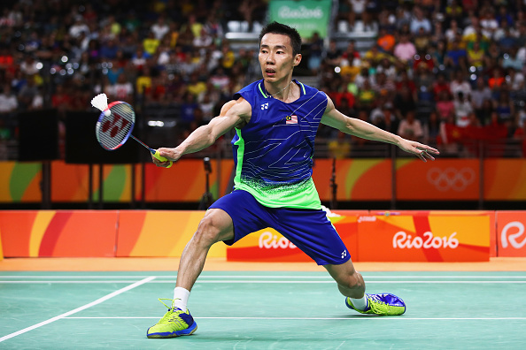 Lee Chong Wei In Action Image Via Clive Brunskill Getty