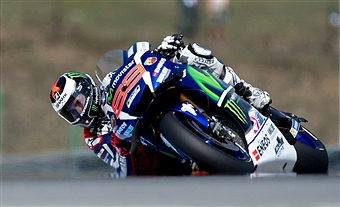 Lorenzo the lap record holder - Getty Images