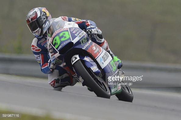 Bastianini on front row despite disastrous end to session - Getty images