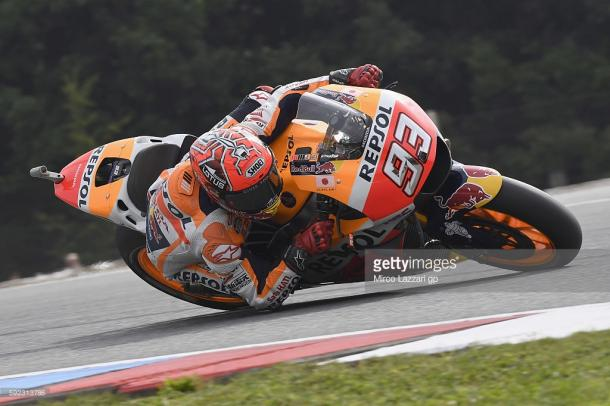 Marquez on form in Brno - Getty Images