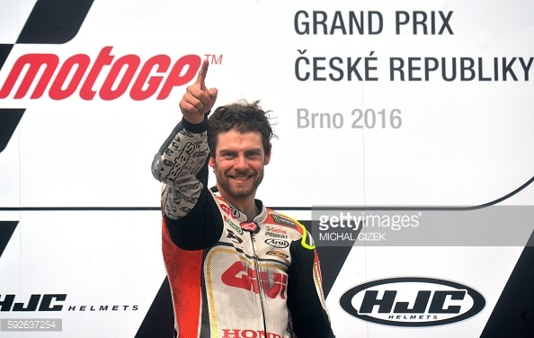 Number 1 in Brno Crutchlow claims first MotoGP win, first win for LCR Honda and 1st British win in 35 years - Getty Images