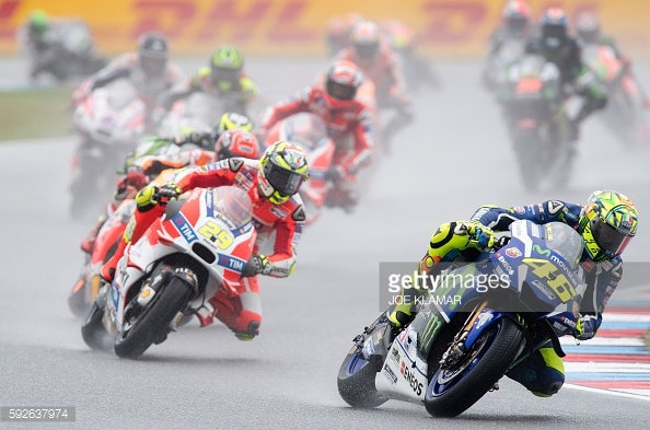 Another wet race got underway - Getty Images