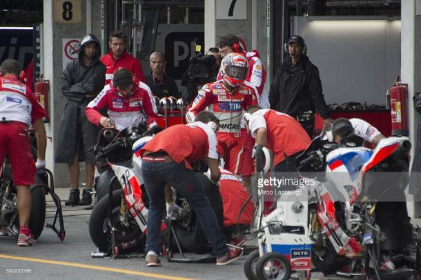 Dovizioso reluctant to return to the race - Getty Images