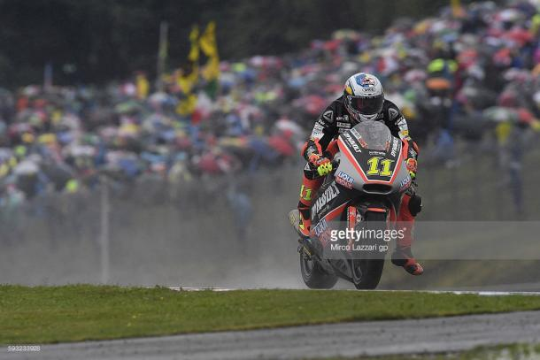 Folger dominated at a wet Brno - Getty Images