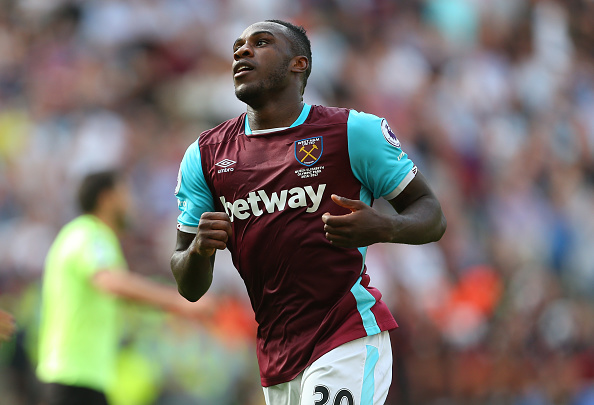 Above: Michail Antonio in action for West Ham United | Photo: Getty Images