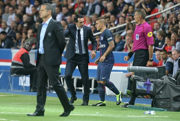 Unai Emery has made a 100% start to life in Paris (photo:getty)