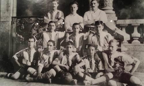 Pachuca campeón de la Copa Tower 1907  Fuente:mvdiana.neocities.org