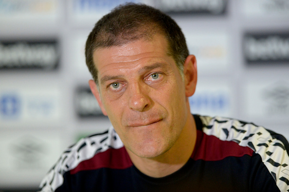 West Ham manager Slaven Bilic in his pre-match conference | Photo: Getty Images