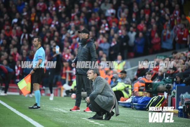 Klopp ganó la batalla táctica a Valverde / Foto: Noelia Déniz (VAVEL.com)