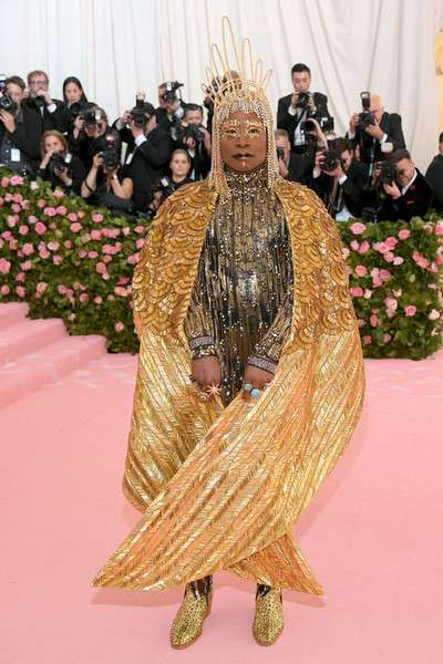 Billy Porter de The Blonds en la MET Gala 2019 | Facebook Met gala