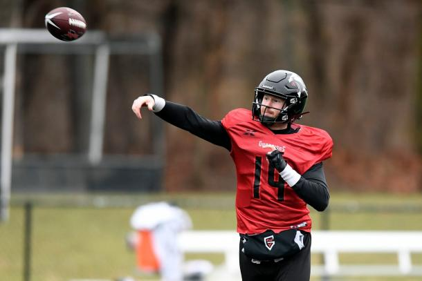 McGloin is one of the better-known players in the XFL/Photo: Danielle Parhizkahan/Northjersey.com