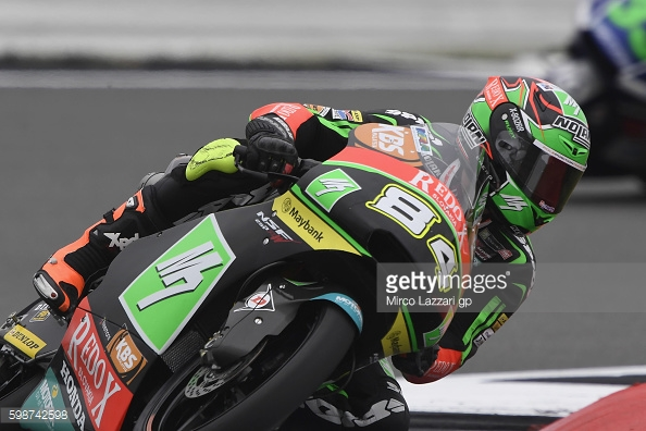 Moto 3 rider Jakub Kornfeil in great form - Getty Images