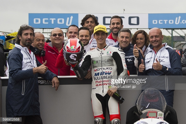 Bagnaia claims first ever Moto3 pole at Silverstone - Getty Images