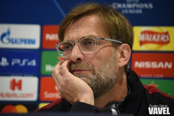 Jürgen Klopp, entrenador del Liverpool. FOTO: Noelia Déniz