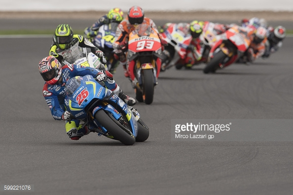 VInales on a mission at Silverstone for the Octo British GP - Getty Images