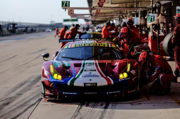 Ferrari vence na classe GTE-PRO. (Foto: FIAWEC)