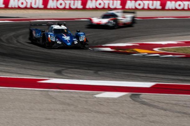 Alpine vence a primeira no ano na classe LMP2. (Foto: FIAWEC)