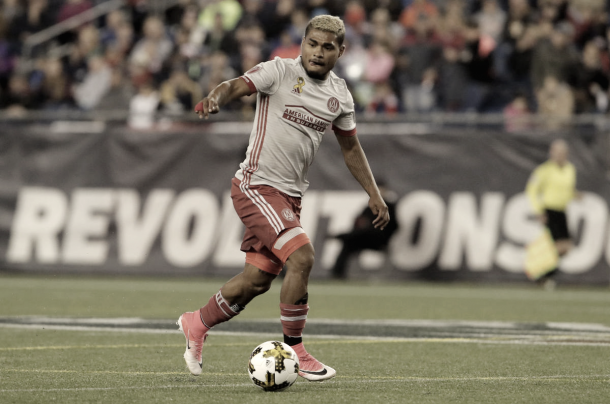 Josef Martinez in action vs. the Revs. | Photo: David Butler II-USA TODAY Sports