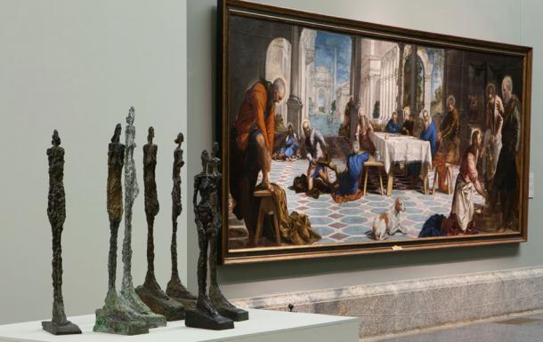 Imagen de las salas de exposición. © Alberto Giacometti Estate / VEGAP, Madrid, 2019. Fotografía © Museo Nacional del Prado