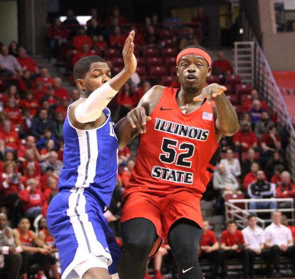 Yarborough has made a huge impact in Normal after transferring from Saint Louis/Photo: Monica Mendoza/Vidette Online