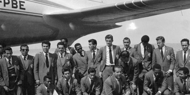 Selección Colombia 1962 rumbo a Chile I Foto: ARCHIVO ETCE