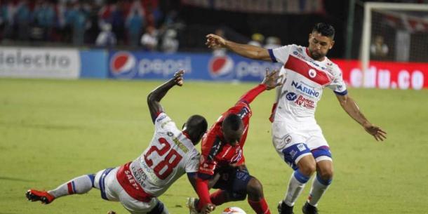 Independiente Medellín vs Deportivo Pasto. Foto: Juan Augusto Cardona.