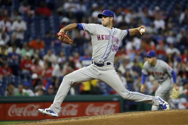 Matz kept the Phillies at bay over his five innnings of work/Photo: Matt Slocum/Associated Press