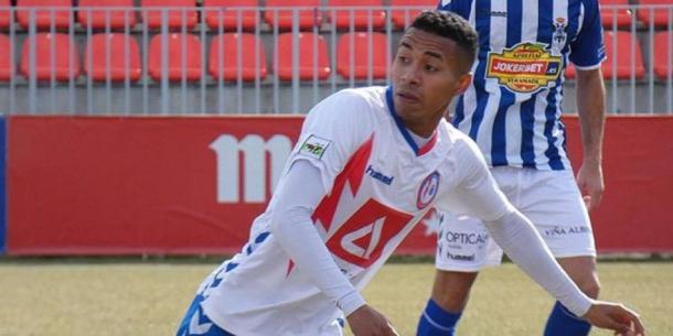Jeisson Martínez durante un partido con el Rayo Majadahonda | Foto: depor.com