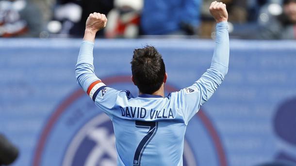 David Villa, un histórico de la MLS (mlssoccer.com)