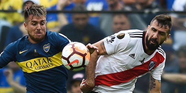 Pratto fue factor en la ida I Foto: Prensa FIFA