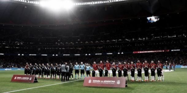 El Wanda Metropolitano, escenario fetiche para la Selección Española. Foto: EFE