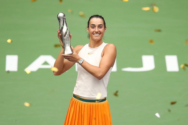 Caroline Garcia is the defending champion in Tianjin | Photo: Yifan Ding