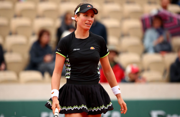 It was a fantastic clay-court season for Konta | Photo: Clive Brunskill