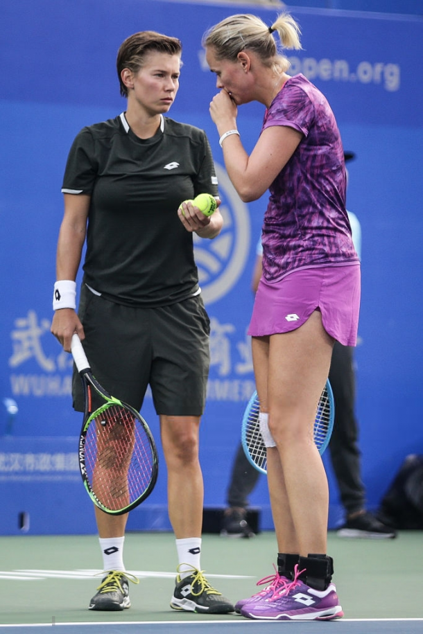 Groenefeld and Schuurs will be going for their first title of the year in Shenzhen | Photo: Wang He