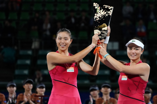 The Chan sisters reunited this year and their partnership blossomed again | Photo: Koji Watanabe